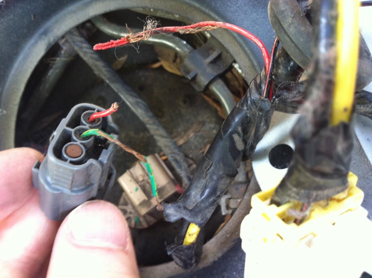 Gas Gauge Not Working >> Fuel Gauge Stuck On E Mazda Forum
