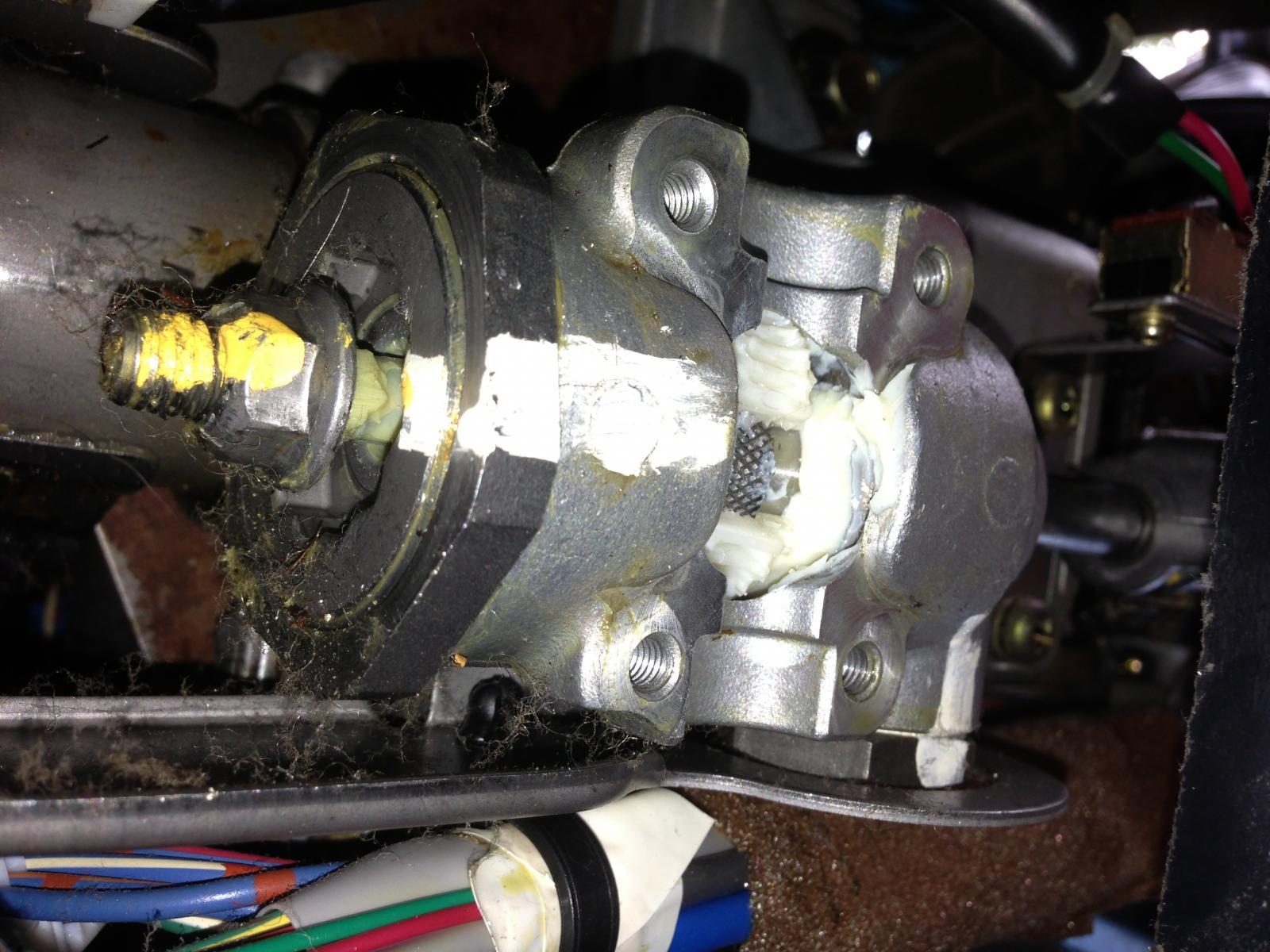 Auto tilt Steering wheel motor not working  Mazda Forum