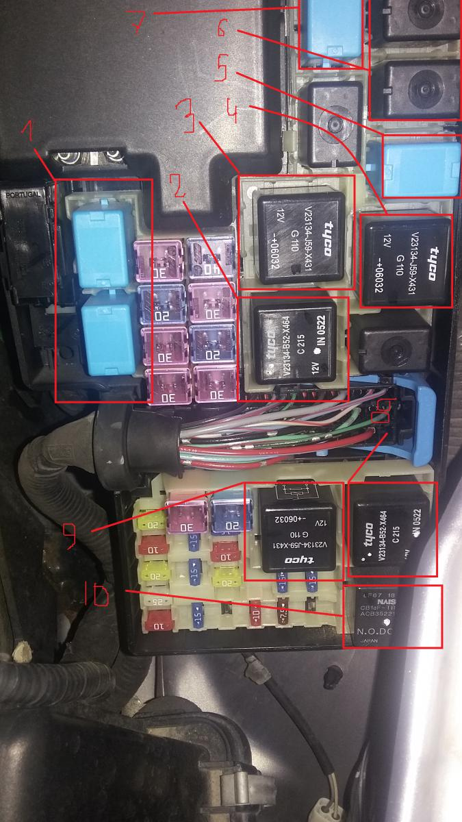 Mazda Cx 9 Blower Relay Location
