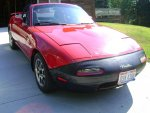 Mazda Miata MX-5 Convertible 5-Speed Red 1990.jpg